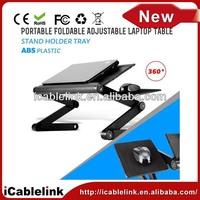 ikea foldable laptop desk aluminum alloy +ABS Usb Ports Cooling Fans Mouse Pad portable notebook laptop desk