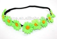 small flower 20cm elastic band, baby girl headband flower