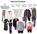 Italiano de las mejores marcas,'total look' mixta ropa, el hombre y la mujer,/otoño invierno.
