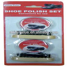 Popular shoe cream kit for easy travelling handle