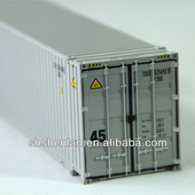 Alloy scale models shipping container models