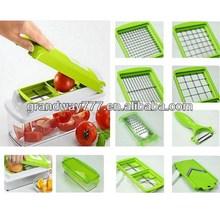 On TV Selling Multifunction Manual Fruit Cutter,Vegetable Chopper