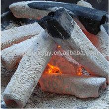 Square high heat value no smoke charcoal