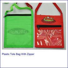 New come! Non-Woven Plastic Tote Bag With Zipper