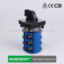Salzer rotary interruptores de levas sa63 3-3( tuv, ce y cb aprobado)