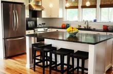 2014 prefab cultured Lowes leather luster black laminate kitchen granite countertop, island top, bar top
