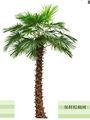 2014 artificial de buena calidad del árbol de palma, artificial de árboles para la venta