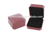 High quality red polygon bangle box plastic jewelry box