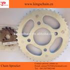 Galvanized 45# steel CG 150 TITAN chain sprocket kit 43/16T for motorcycle