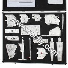 WGK-01 Brief Case Type Tool Kit (16pcs welding gauge kit)
