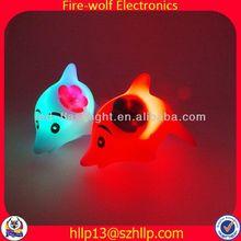 Glow dolphins vinyl kids toy gifts vinyl kids toy manufacturer