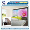 China high quality 3d pure white home wallpaper for digital printing