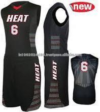 Cheap basketball uniform set