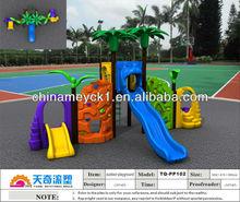 2014 outdoor children playground slide TQ-PP102 /outdoor park play equipment
