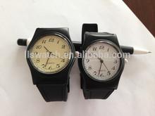 2014 new design plastic quartz wrist watch band with very cheap price