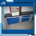 Utilizado en el laboratorio de química todos los muebles- la construcción de acero de laboratorio balanza de mesa