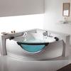 FC-210 Double whirlpool bathtubs, corner shape model