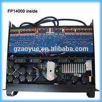 FP14000q 5000watt power amplificator audio