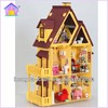 Hot sale diy wooden toys doll house My Little House