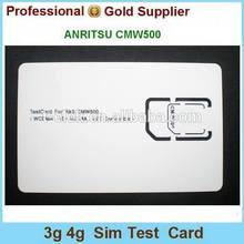 Lte 4g Test Card for ANRITSU CMW500 Mobile Phone Micro-Sim Test Card