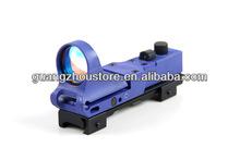 Mini Railway Gun Red Dot Scopes 1x29 GZ2021 Blue