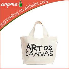 custom printed blank canvas wholesale tote bag