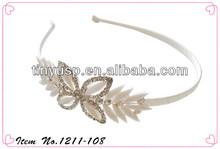 rhinestone crystal stone bridal headband/hairband