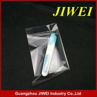 Biodegradable plastic opp bag with header