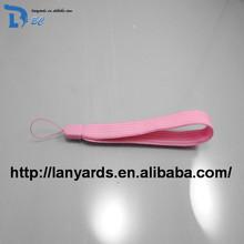 pink ribbon lanyard