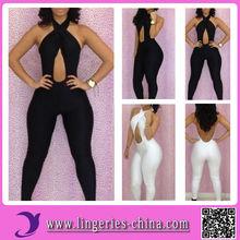 Floor Length Long Sleeve Plus Size Bandage Dress