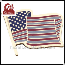 America flag badges custom metal badges national emblem