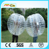 High quality newest PVC/TPU Inflatable Loopy Ball, inflatable touch ball,bubble football