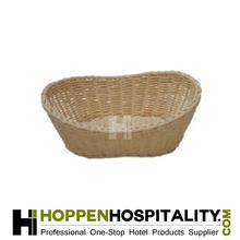 boat style bamboo basket
