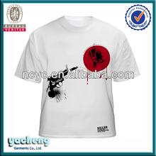 OEM service cheap men basic shirts suppliers plain cotton t shirt in bulk white t shirt accept paypal