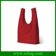 Reusable foldable baggu shopping nylon bag