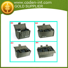 Folding Camera Padded Case Insert Partition Protective Bags with Cap &canera pouch case