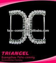 Popular Style Shining Beautiful Wedding Rhinestone Buckle Wholesale