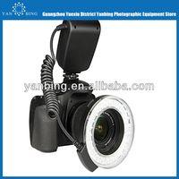 Hottest selling marco ring led light for canon nikon panasonic dslr camera