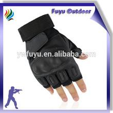 High-end CHINA Half Finger Tactical Breathable Black Best Tactical Glove