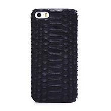 Real Python Snakeskin Cellphone Case Genuine Leather Cover for iPhone5s