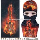 Top Fashion Guitar Flame Style Magic Multifunctional Bandana