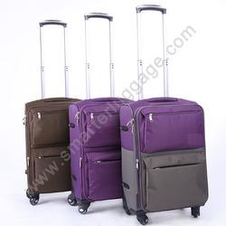 nylon girls sky travel luggage