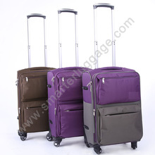 nylon girls sky travel luggage