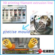 No black spots ABS/PLA 3D printing filament production line technology