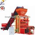 Venta caliente de un solo bloque de la máquina, vibrante de ladrillo de la máquina de moldeo qtj 4-26