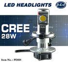 HIGH LUMEN H4 LED HEADLIGHT CREE CHIP LED CONVERSION KIT