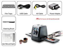 Resolution 5MP Scanner/Digitizer - Converts 35mm Negatives & Slides to 14 Mini Scanner Film Handy Portable Film Scanner PS-830