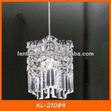 KL-21084 single pendant lamp crystal for kitchen dining room bedroom living room hall way decoration
