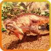 Sound control animal leather dinosaur specialities