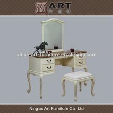 Antique living room furniture european design wooden mirror